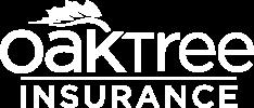 Oak Tree Insurance Logo in White